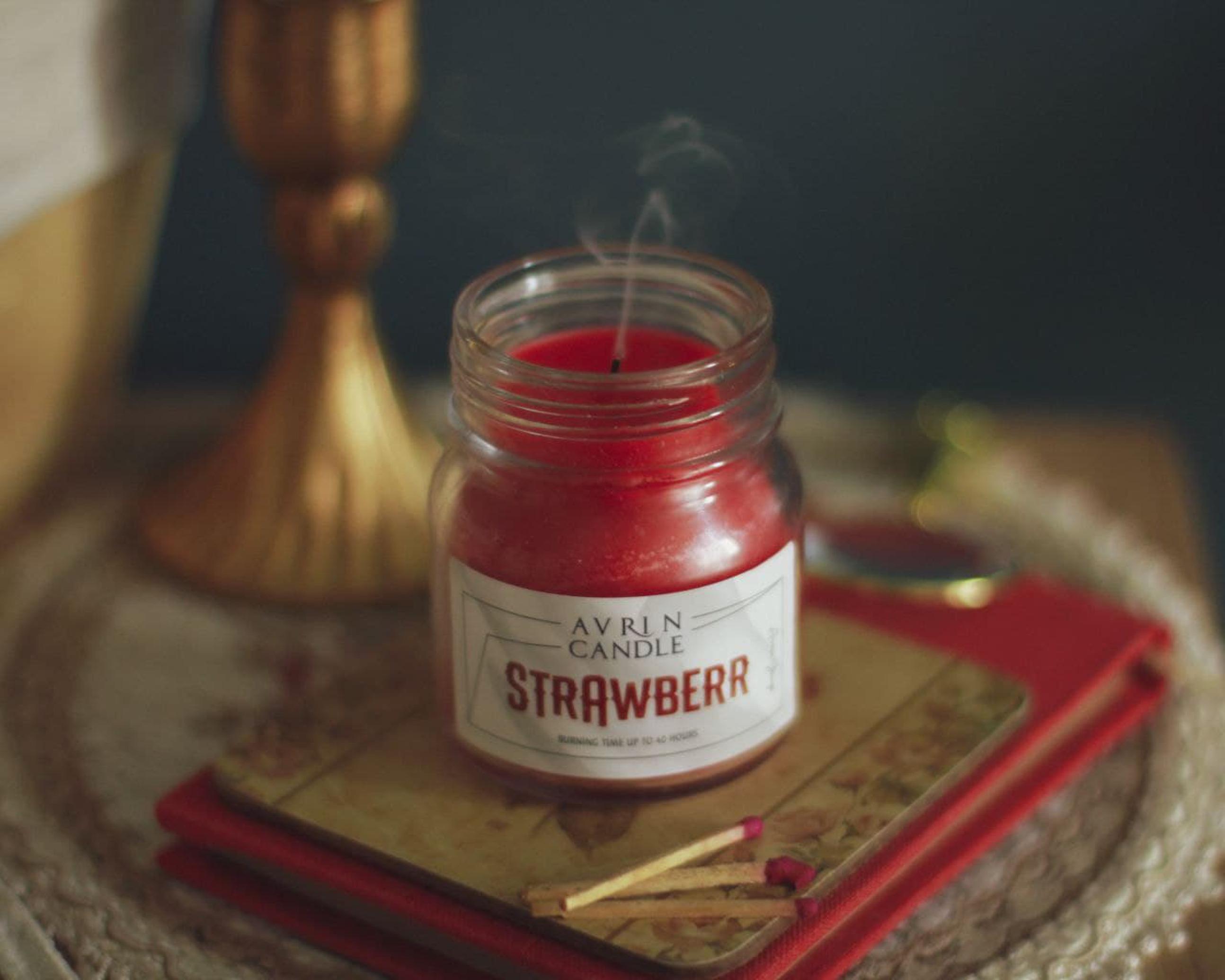 شمع معطر صادراتی مخصوص اورین